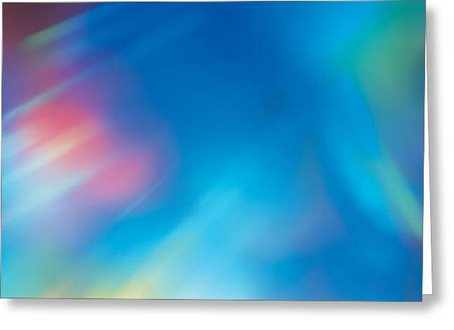 Spectrum Greeting Cards - Abstract Greeting Card by Panoramic Images