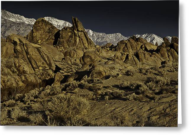 Photographic Art For Sale Greeting Cards - Alabama Hills Greeting Card by Richard Smukler