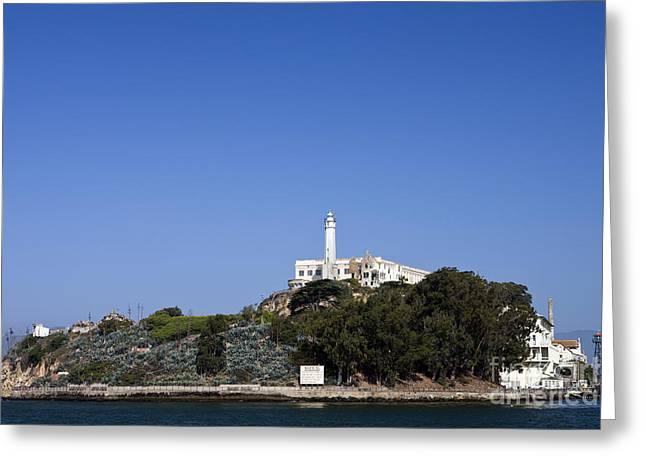 Alcatraz Greeting Cards - Alcatraz Island Greeting Card by Jason O Watson