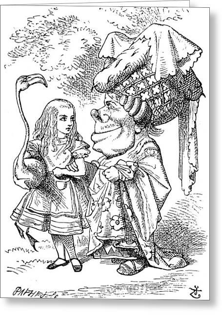 Alice In Wonderland, 1865 Greeting Card by Granger