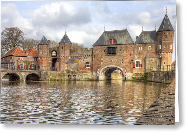 Medieval City Greeting Cards - Amersfoort Greeting Card by Joana Kruse