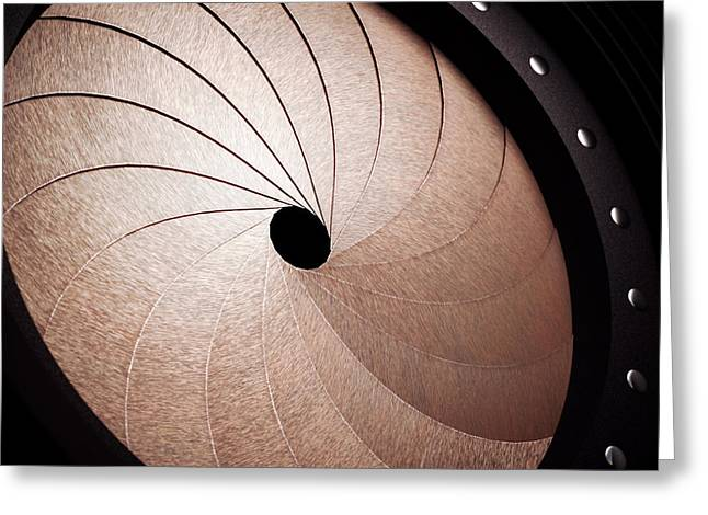 Aperture Greeting Card by Ktsdesign
