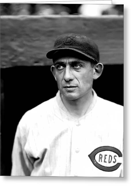 Baseball Photographs Greeting Cards - Arthur N. Art Nehf Greeting Card by Retro Images Archive