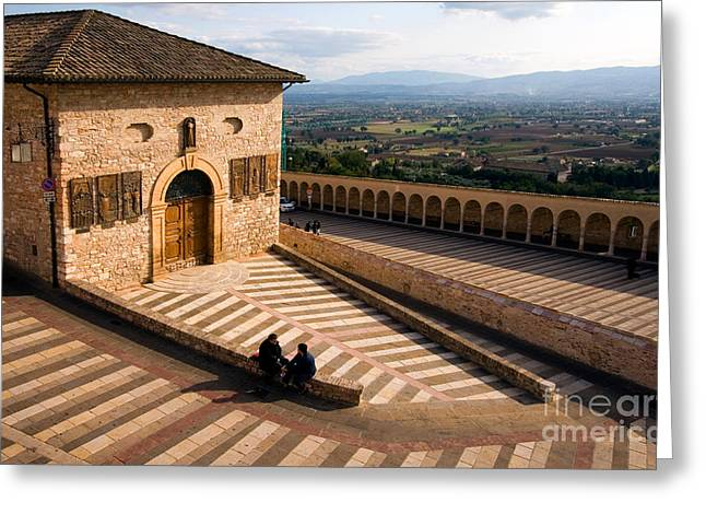 San Francesco Greeting Cards - Assisi Greeting Card by Tim Holt