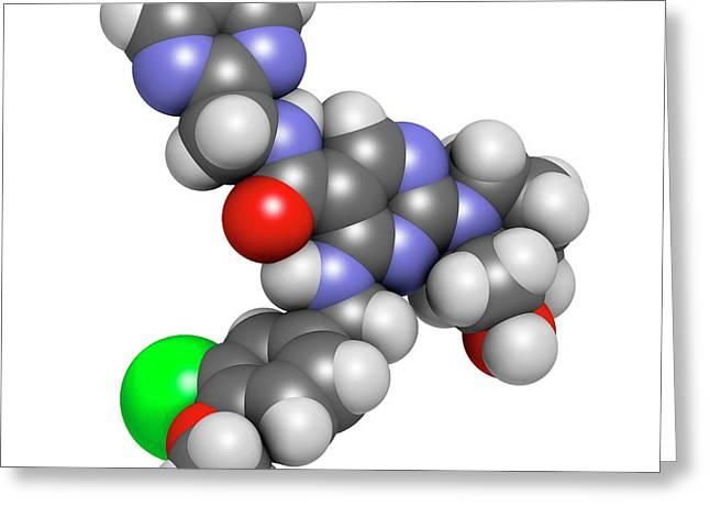 Avanafil Erectile Dysfunction Drug Greeting Card by Molekuul