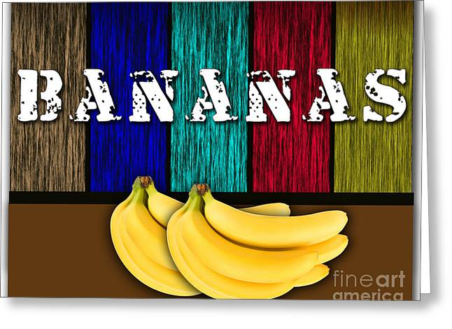 Bananas Greeting Card by Marvin Blaine