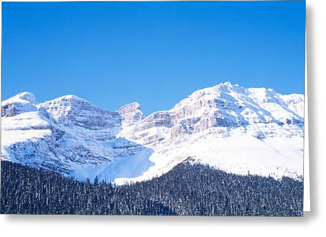 Height Greeting Cards - Banff National Park Alberta Canada Greeting Card by Panoramic Images