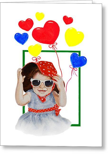 Valentine Greeting Cards - Be My Valentine Greeting Card by Irina Sztukowski