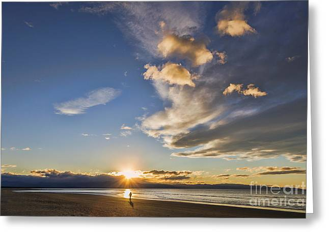 Beautiful Scenery Greeting Cards - Beautiful Sunset  Greeting Card by Colin and Linda McKie