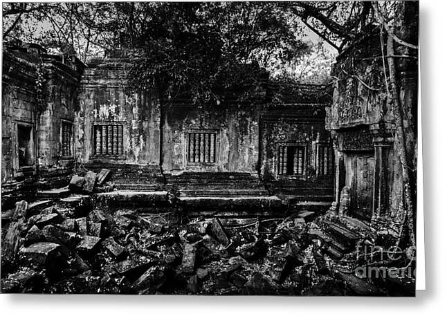 Beng Mealea Greeting Card by Julian Cook