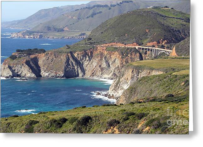 Bixby Greeting Cards - Bixby Creek Bridge Greeting Card by Jack Schultz