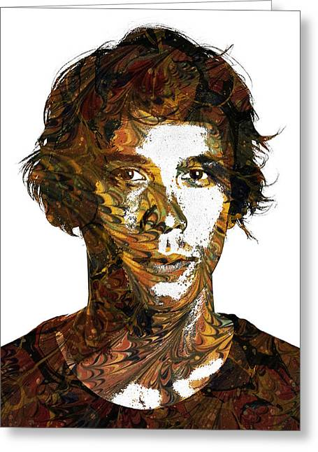 Morley Greeting Cards - Bob Morley Greeting Card by Celestial Images