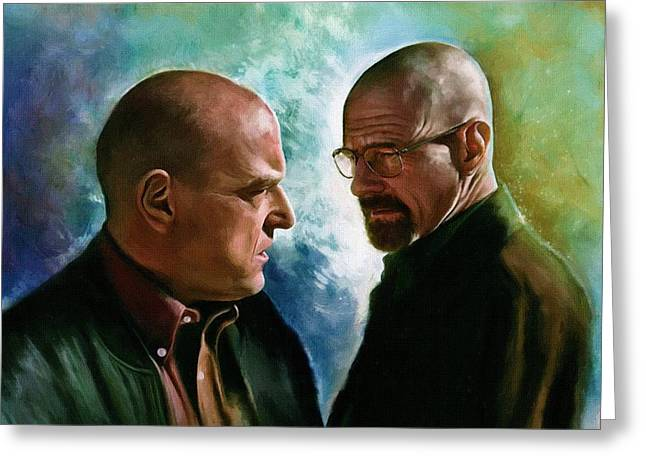 Bad News Greeting Cards - Breaking Bad s02 Greeting Card by Victor Gladkiy