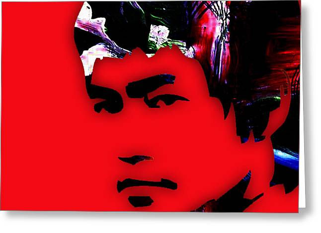 Bruce Greeting Cards - Bruce lee Collection Greeting Card by Marvin Blaine
