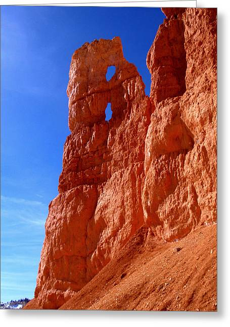 Tent Rocks Canyon Greeting Cards - Bryce Canyon National Park Greeting Card by Rona Black