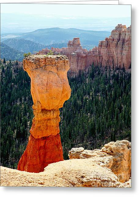 Rock Hammer Greeting Cards - Bryce Canyon Greeting Card by Sophie Vigneault