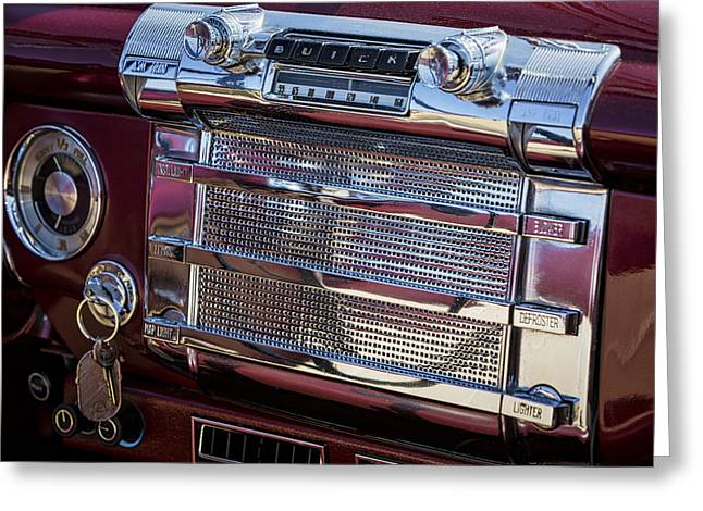 Consoling Photographs Greeting Cards - Buick 56C Super Classic Greeting Card by Susan Candelario