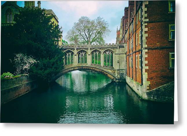 Analog Greeting Cards - Cambridge University Greeting Card by Mountain Dreams