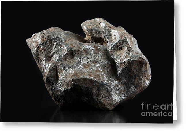 Reform Greeting Cards - Campo Del Cielo Meteorite Fragment Greeting Card by Detlev van Ravenswaay