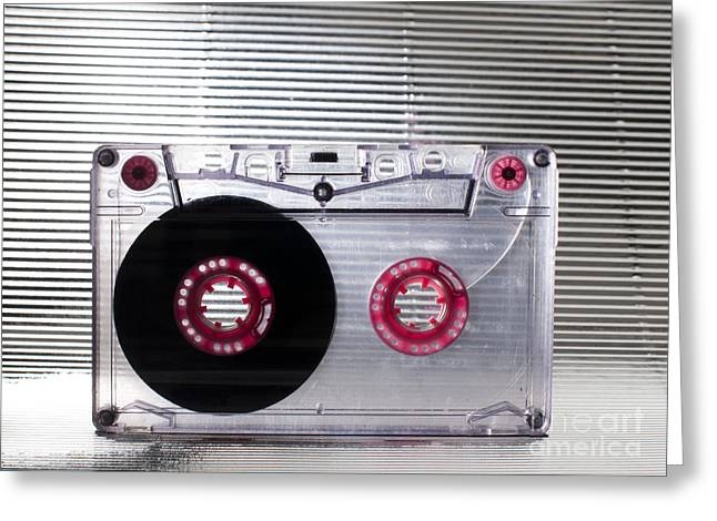 Casette Greeting Cards - Cassette tape Greeting Card by Deyan Georgiev