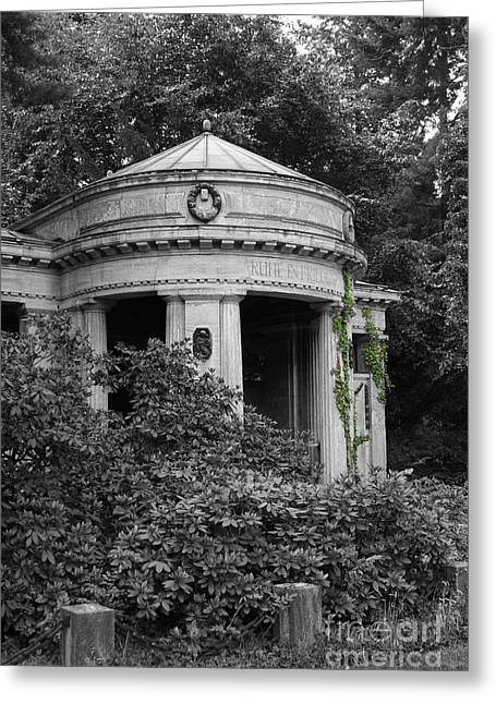 Art Photography Greeting Cards - Cemetery Stahnsdorf Berlin Greeting Card by Art Photography