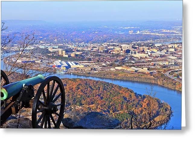 Chattanooga In Autumn Greeting Card by Melinda Fawver