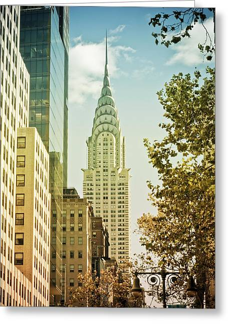 Recently Sold -  - Darren Greeting Cards - Chrysler Building Greeting Card by Newyorkcitypics Bring your memories home
