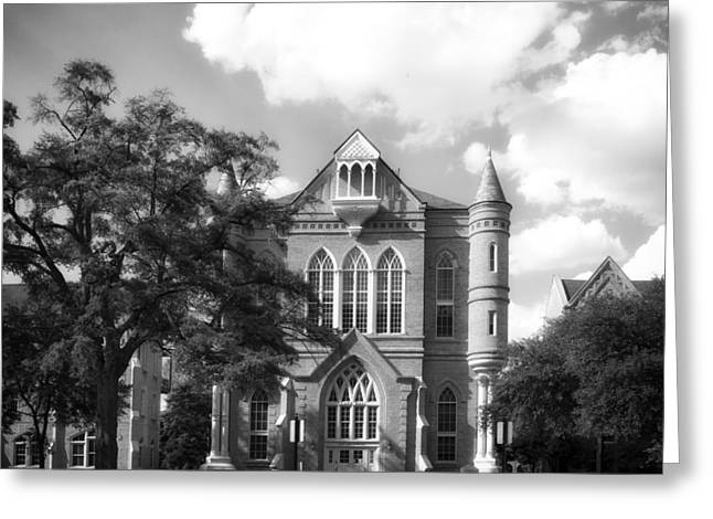 University Of Alabama Greeting Cards - Clark Hall - University of Alabama Greeting Card by Mountain Dreams