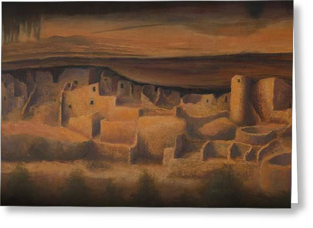 Jerry West Greeting Cards - Cliff Palace Greeting Card by Jerry McElroy