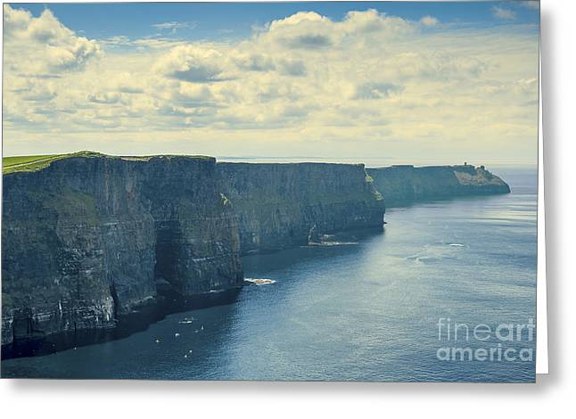 Cliffs Of Moher Greeting Card by Svetlana Sewell