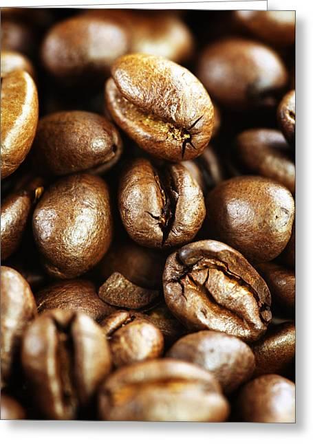 Kaffee Greeting Cards - Coffee Greeting Card by Falko Follert