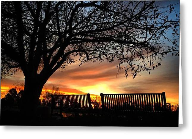 Fort Collins Greeting Cards - Colorado Sunrise Greeting Card by Brittany  Carlson