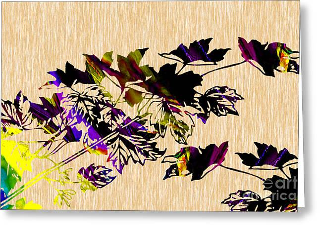 Image Greeting Cards - Colorful Leaves Greeting Card by Marvin Blaine