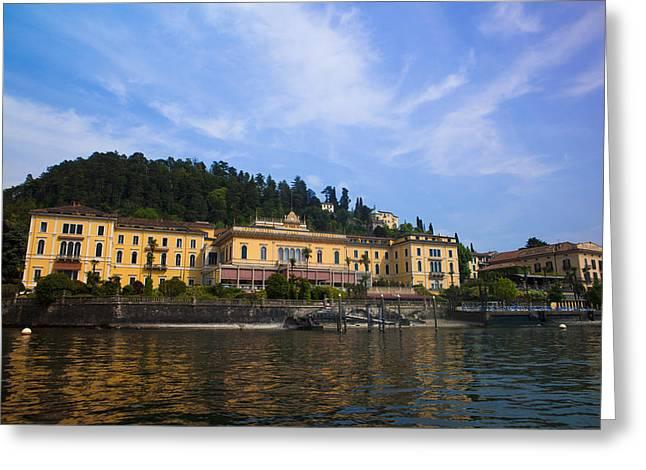 Lago Di Como Greeting Cards - Como Lake Greeting Card by Roberto Adrian