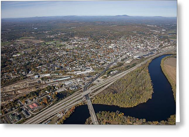 Concord Center Greeting Cards - Concord, New Hampshire Nh Greeting Card by Dave Cleaveland