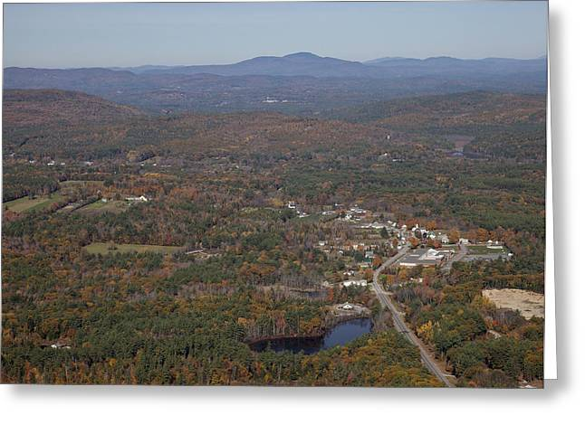 New England Village Greeting Cards - Concord Outskirts, New Hampshire Greeting Card by Dave Cleaveland