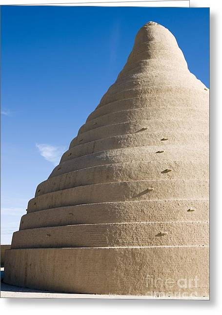 Adobe Greeting Cards - Cooling Tower, Iran Greeting Card by Dirk Wiersma