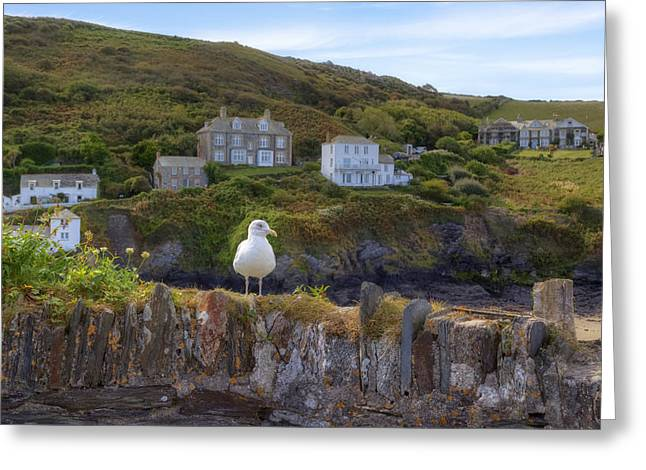 Isaac Greeting Cards - Cornwall - Port Isaac Greeting Card by Joana Kruse