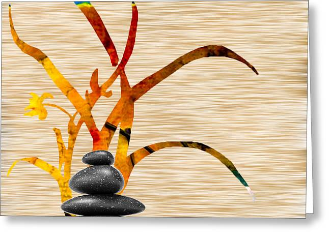 Yoga Greeting Cards - Creating Balance Greeting Card by Marvin Blaine