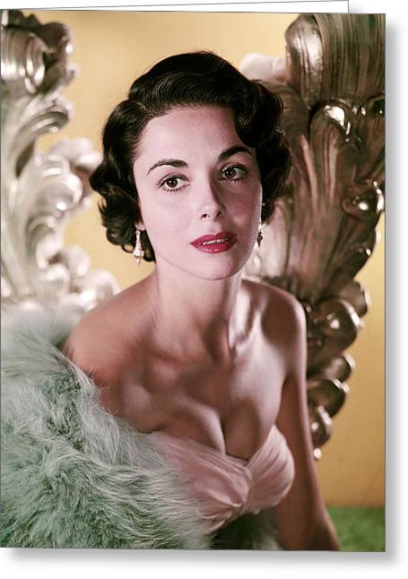 Danae Greeting Cards - Dana Wynter Greeting Card by Silver Screen