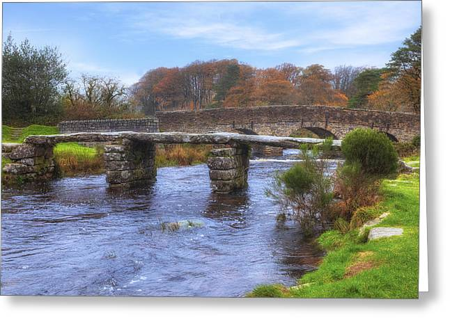 Moorlands Greeting Cards - Dartmoor - Postbridge Greeting Card by Joana Kruse