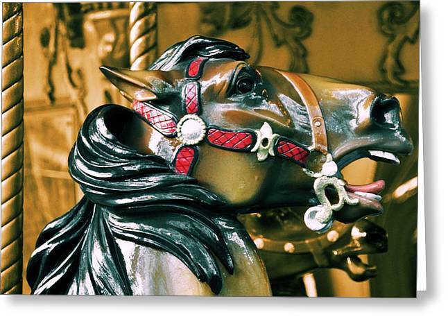 Bryant Greeting Cards - Dashing Horses Greeting Card by JAMART Photography