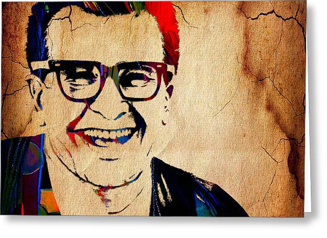 Brubeck Greeting Cards - Dave Brubeck Collection Greeting Card by Marvin Blaine