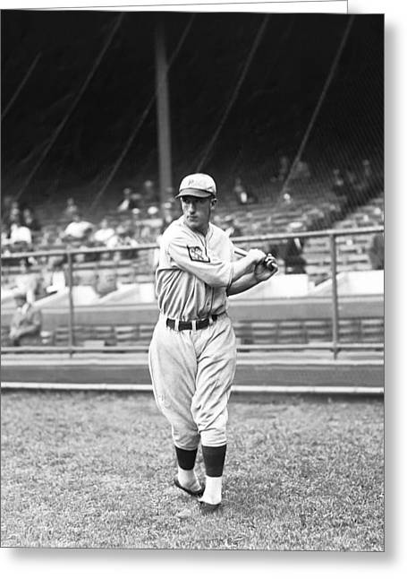 "Philadelphia Phillies Stadium Greeting Cards - Dennis Elwood ""Denny"" Sothern Greeting Card by Retro Images Archive"