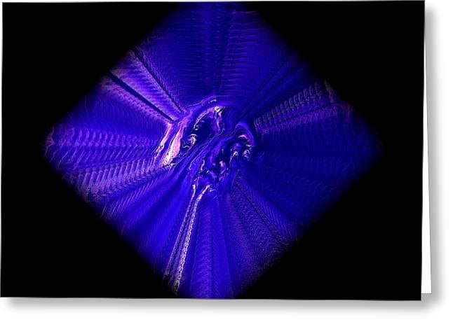 Hypnotic Greeting Cards - Diamond 201 Greeting Card by J D Owen