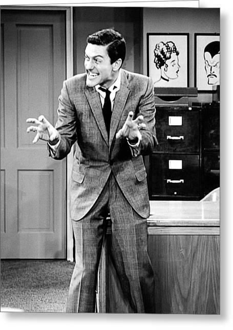 Dick Greeting Cards - Dick Van Dyke in The Dick Van Dyke Show  Greeting Card by Silver Screen