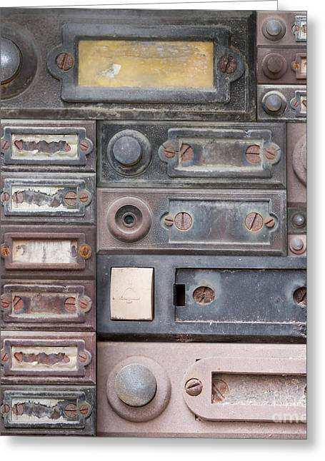 Doorbell Greeting Cards - Doorbells Greeting Card by Michal Boubin