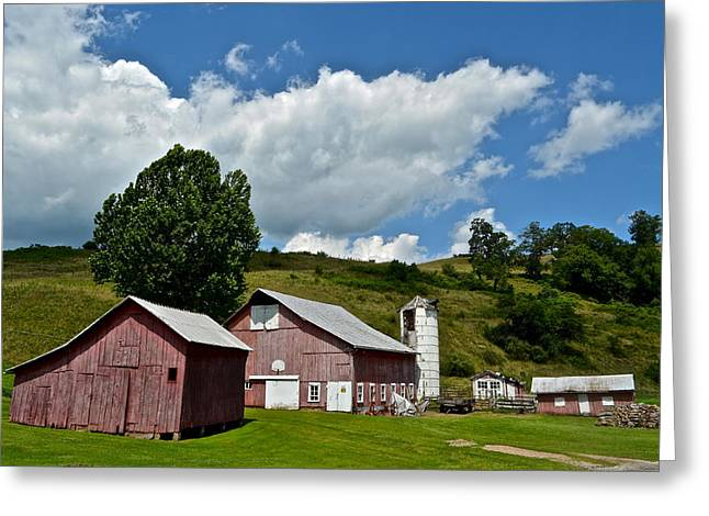 Amish Greeting Cards - Down on the Farm Greeting Card by Frozen in Time Fine Art Photography
