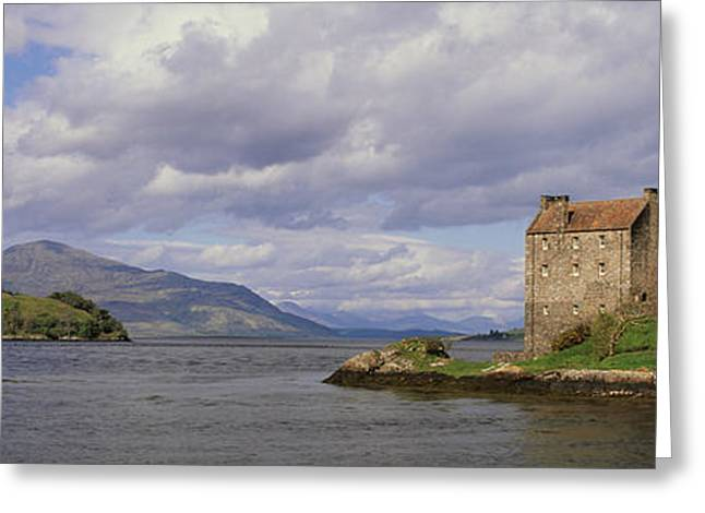 Civilization Greeting Cards - Eilean Donan Castle, Dornie Greeting Card by Panoramic Images