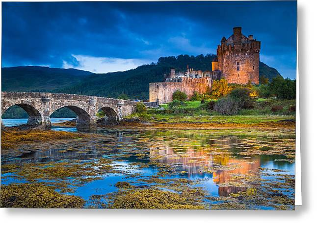 Serum Greeting Cards - Eilean Donan Castle Greeting Card by Stefano Termanini